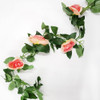 Peach Pink Roses