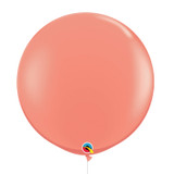 "36""/3Feet Jumbo Perfectly Round Latex Balloon - Coral"