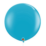 "36""/3Feet Jumbo Perfectly Round Latex Balloon - Robin's Egg Blue"