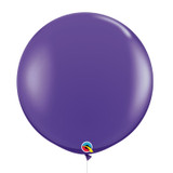 "36""/3Feet Jumbo Perfectly Round Latex Balloon - Purple Violet"