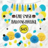 Cake Smash Balloons Package