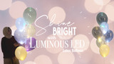 Shine Bright with our Luminous LED Latex Balloons