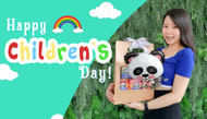 It's all about the kids, because it's Children's Day!