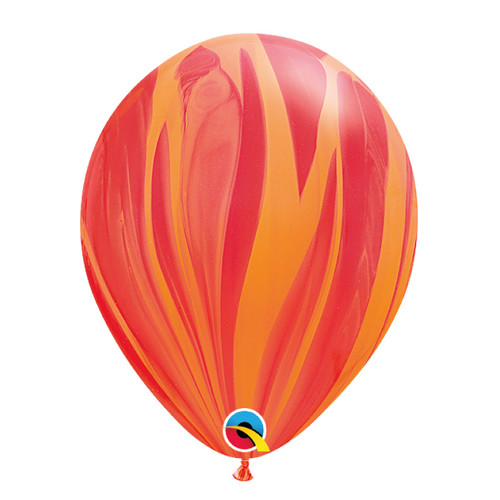 "12"" Marble Pattern Latex Balloon - Sunshine Marble"