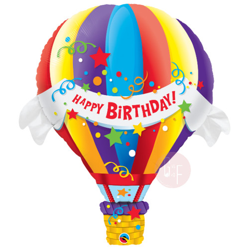 [Party] Birthday Hot Air Foil Balloon (42inch)
