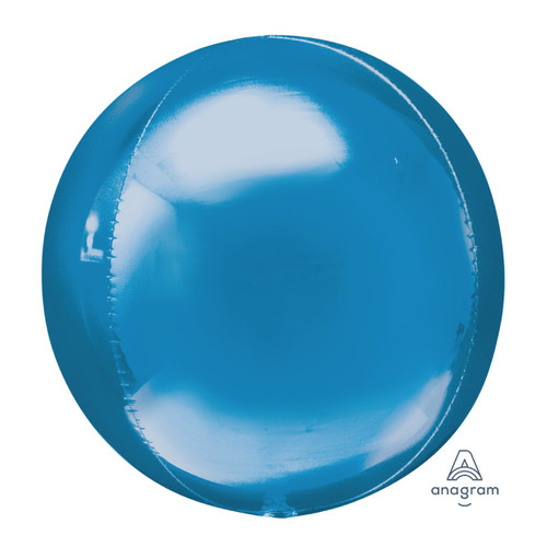 "[Orbz] 16""/41cm Sphere Shaped Balloon - Blue"