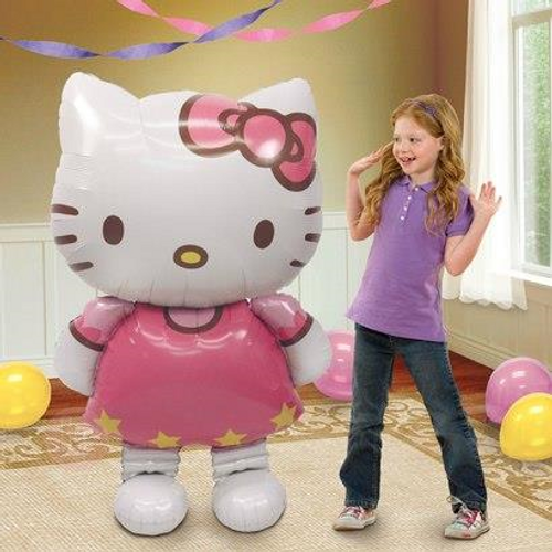 [Hello Kitty] Jumbo Hello Kitty Airwalker Balloon (50inch)