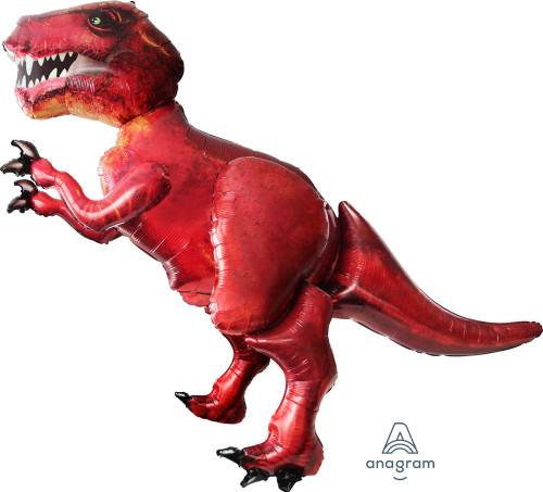 [Dinosaur] Jumbo Tyrannosaurus Rex Airwalker Balloon (68inch)