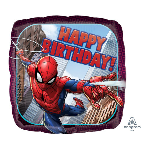 Spider-Man Happy Birthday Foil Balloon (18inch)