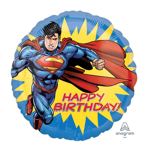 Superman Happy Birthday Foil Balloon (18inch)