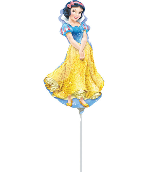 [Party: Disney Princess] Mini Snow White Foil Balloon with Stick (14inch)