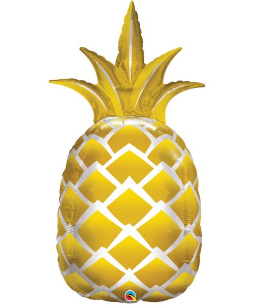 [Pineapple] Golden Pineapple Foil Balloon (44inch)
