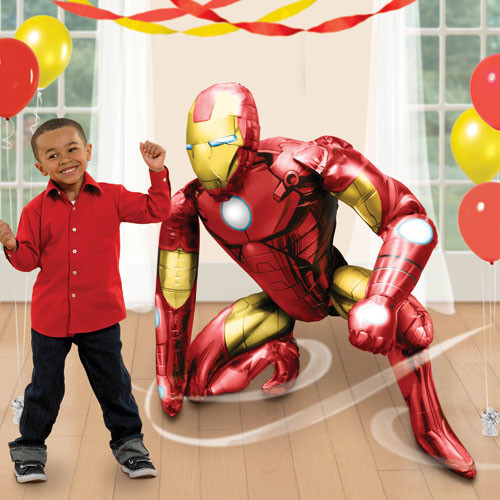 Jumbo Iron Man Airwalker Balloon (46inch)