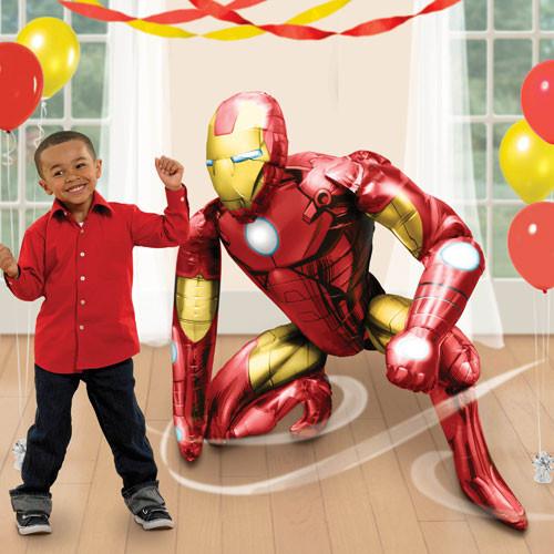Jumbo Iron Man Airwalker Balloon (46inch)