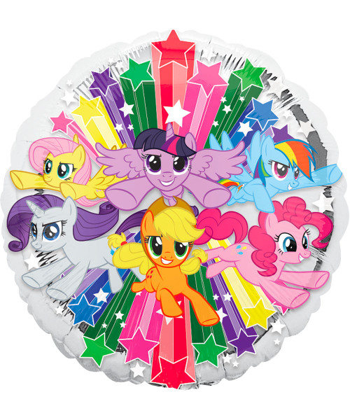 [Party: My Little Pony] My Little Pony Gang Foil Balloon (18inch) (A34902)