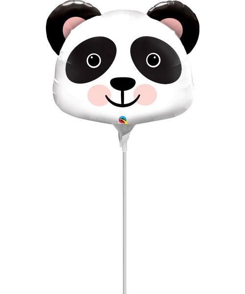 Mini Precious Panda Foil Balloon 14inch with Stick