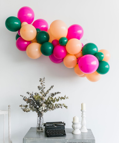 Create Your Own Trending Organic Balloon Garland - Fashion Color