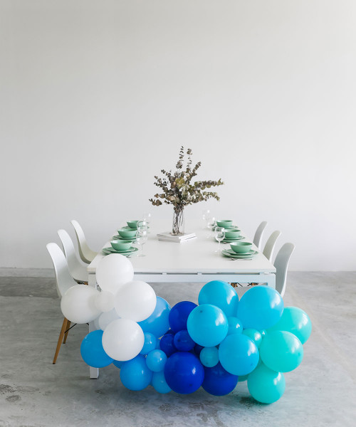 Create Your Own Ombre Organic Balloon Garland - Fashion Color