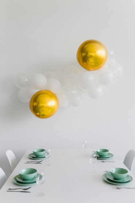 Create Your Own Orbz Organic Balloon Garland - Fashion Color