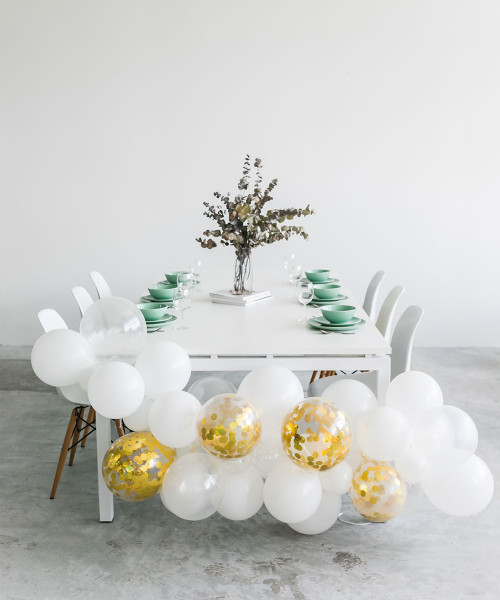Create Your Own Confetti Organic Balloon Garland - Fashion Color
