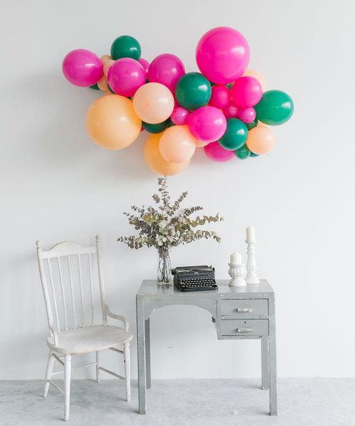 Create Your Own Trending Organic Balloon Garland (Large)- Fashion Color