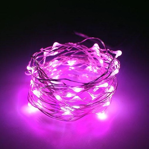 Micro LED String Lights (3meter) - Pink