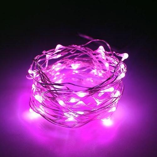 Micro LED String Lights (3meter) - Pink