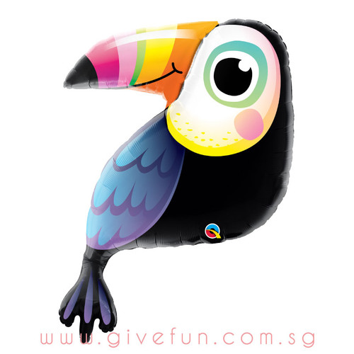 [Party] Colorful Toucan Foil Balloon (41inch)
