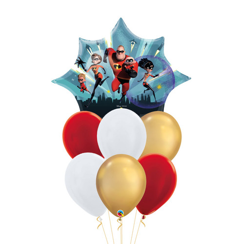 Incredibles 2 Balloons Bouquet