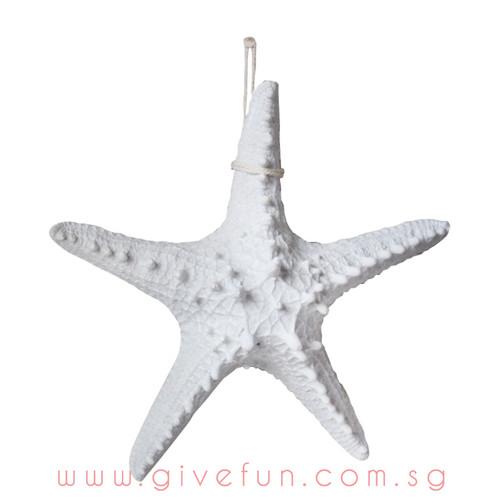 Decorative Knobby Starfish - White (16cm)