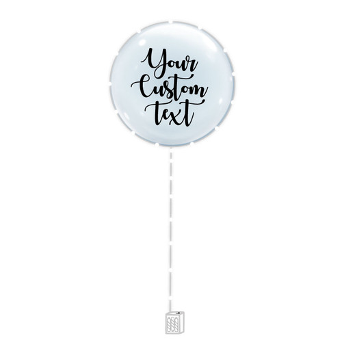 "24"" Personalised Confession Balloon 告白气球 with White LED Lights"