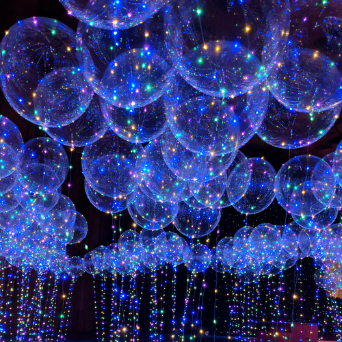 """22"""" Confession Balloon 告白气球 with Pink LED Lights"""