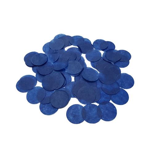 10gram Paper Round Confettis (2.5cm) - Royal Blue