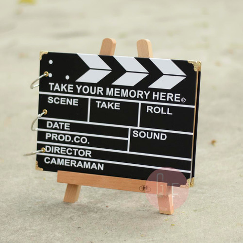 Movie Themed Photobook: DIY Guestbook to be used at Wedding/ROM Reception, freely to decorate and create your very own guestbook