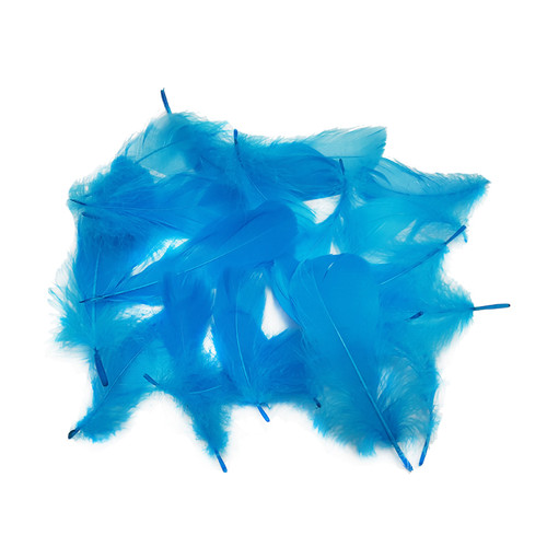 Decorative Feathers - Sky Blue