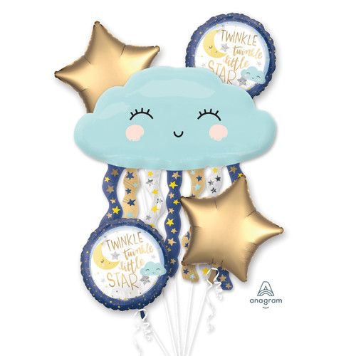Twinkle Little Star Balloons Bouquet