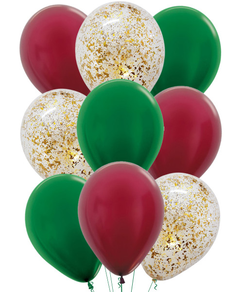 [Merry Christmas] Christmas Balloons Cluster - Be Merry