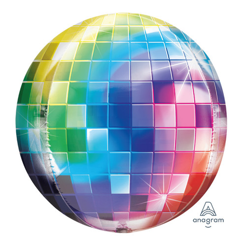 [Party] Orbz Disco Ball Sphere Shaped Balloon (16inch)