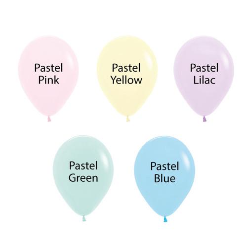 """12"""" Standard Pastel Matte Round Latex Balloon"""
