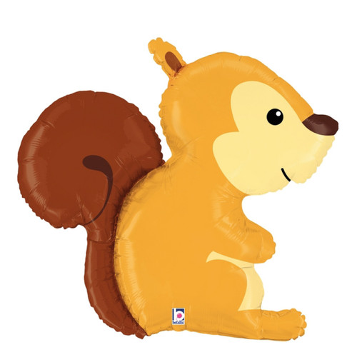 [Animal] Woodland Squirrel Foil Balloon (36inch)