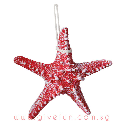 Decorative Knobby Starfish - Red (16cm)