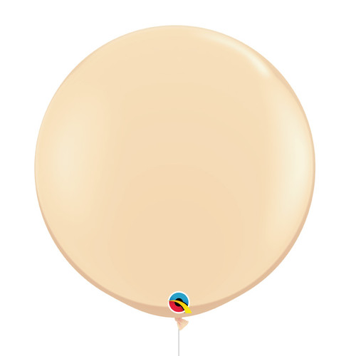 "36""/3Feet Jumbo Perfectly Round Latex Balloon - Nude"