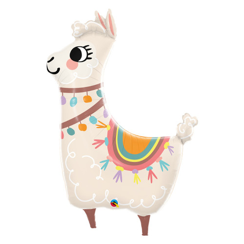 Loveable Llama Foil Balloon (45inch)