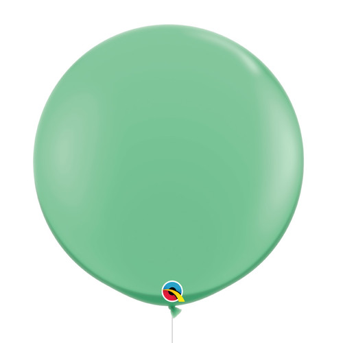 "36""/3Feet Jumbo Perfectly Round Latex Balloon - Wintergreen"
