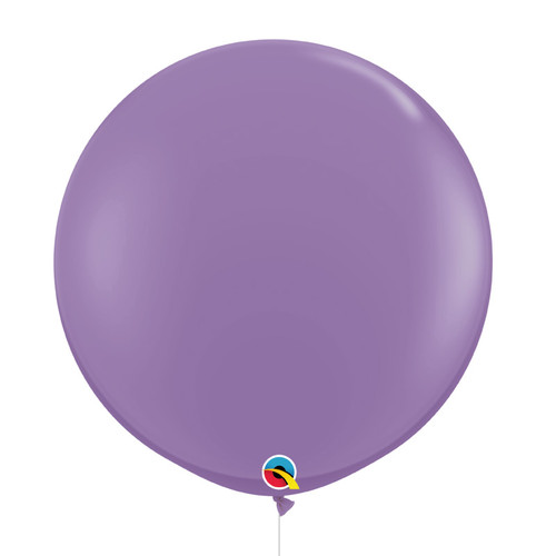 "36""/3Feet Jumbo Perfectly Round Latex Balloon - Spring Lilac"