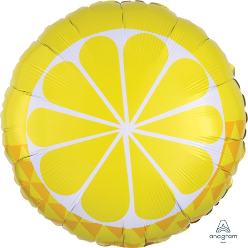 Tropical Lemon Foil Balloon (17inch)