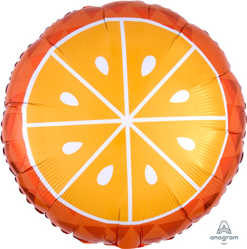 Tropical Orange Foil Balloon (17inch)