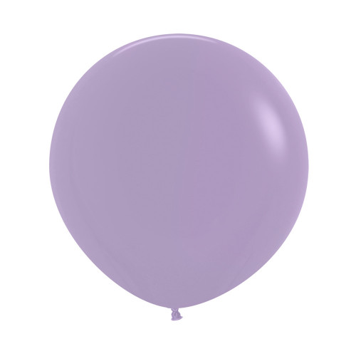 "[Oval Shaped] 36""/3 Feet Giant Round Latex Balloon - Lilac"