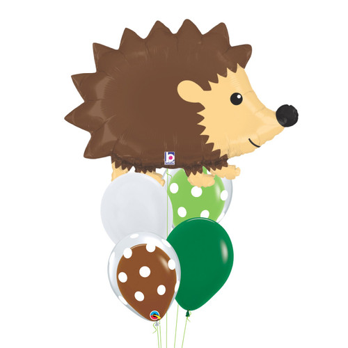 [Animal] Woodland Hedgehog Bubble Fun Balloons Bouquet