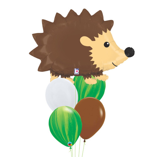 [Animal] Woodland Hedgehog Marble Fun Balloons Bouquet